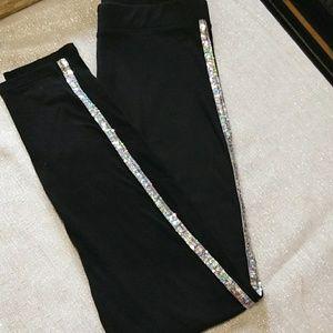 PINK Victoria's Secret leggings, sequins